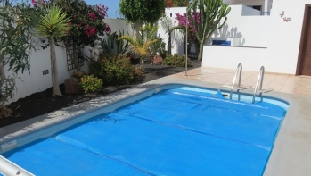 Semi detached townhouse near Marina Rubicon, Playa Blanca for sale.