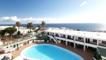 1 bed apartment with stunning views, Old Town Puerto del Carmen