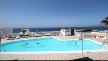 One bedroom apartment with sea views in Puerto del Carmen