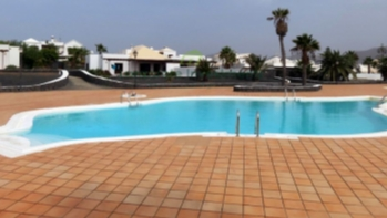 Semi Detached Bungalow with Pool Views in Playa Blanca