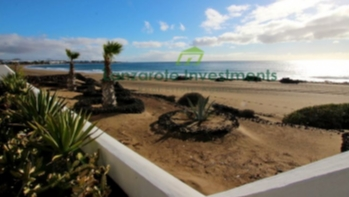 Two bedroom, two bathroom apartment with direct beach access