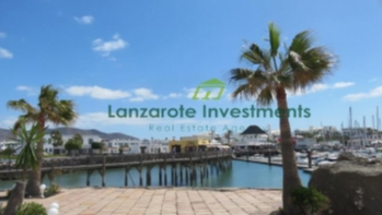 Frontline Restaurant For Leasehold in Marina Rubicon, Playa Blanca