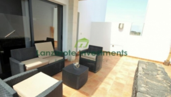 Excellent 3 Bedroom Duplex with Private Pool For Sale in Costa Teguise