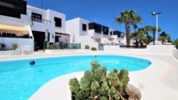 1 Bedroom top floor apartment with communal pool for sale in Puerto del Carmen