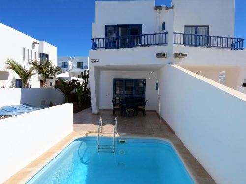2 bedroom villa with Pool in Marina Rubicon