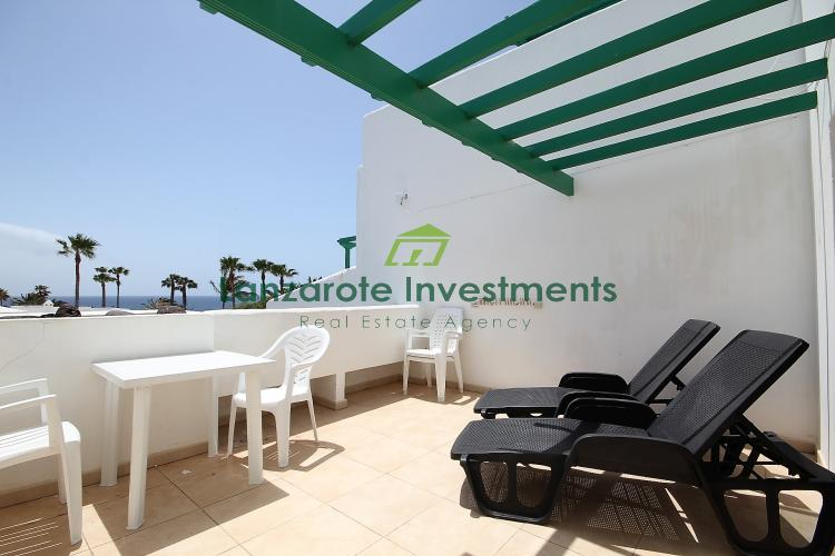 1 Bedroom Apartment For Sale Located on a Frontline Complex in Costa Teguise