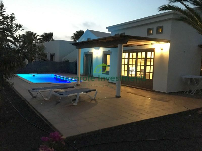Lovely 2 Bedroom Villa in the South of Playa Blanca