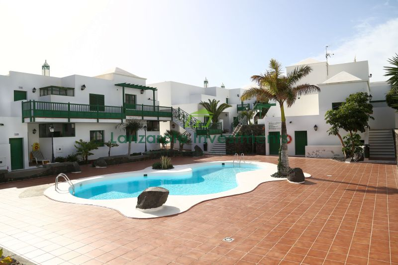 Beautiful 2 Bedroom Apartment on a Complex with a Pool in Costa Teguise