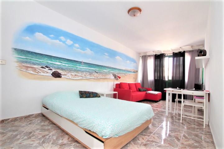 Top floor studio apartment for sale in Puerto del Carmen