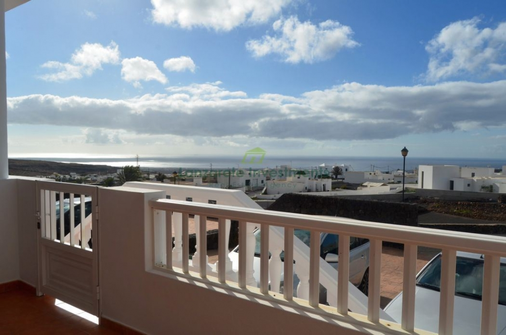 Three Bedroom Apartment in Tias with Sea Views