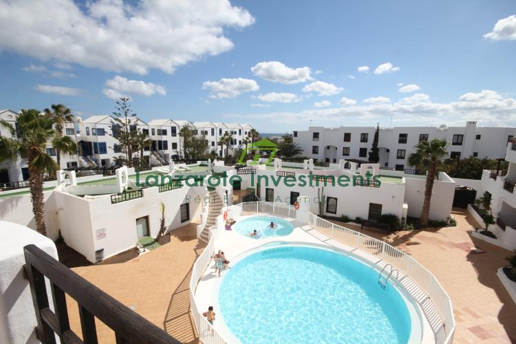 Excellent Top Floor 1 Bedroom Apartment For Sale in Costa Teguise