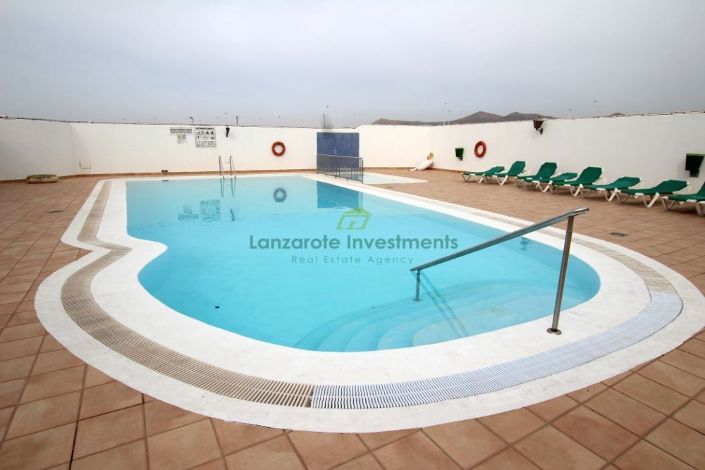 One bedroom apartment with communal pool in Puerto del Carmen