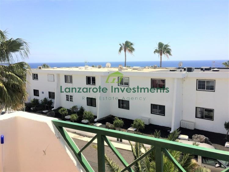 1 Bedroom Apartment with Sea Views in Old Town, Puerto del Carmen