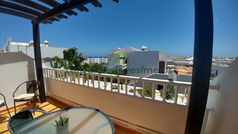 Excellent Duplex on a Complex with a Communal Pool in Costa Teguise