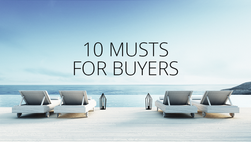 10 Musts for Property Buyers in Lanzarote