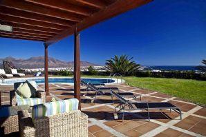 4 bedroom villas, sea view, Playa Blanca