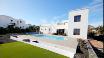 Large modern detached villa for sale in Tias with great sea views.