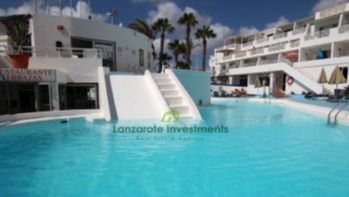 Top floor Studio Apartment with sea views in old town Puerto del Carmen.