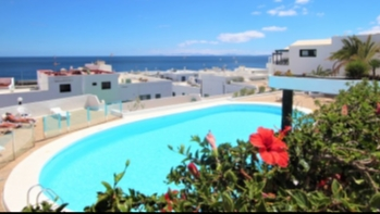 1 Bedroom Ground Floor Apartment with Sea Views in Puerto del Carmen