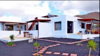 Recently built detached villa with panoramic sea views in Las Breñas