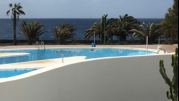 Front line 1 bedroom apartment with incredible sea views for sale in Costa Teguise