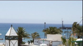 Unique frontline independent beach house for sale in Costa Teguise