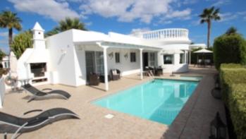 Beautiful villa situated in the exclusive area of Risco Prieto in Puerto del Carmen