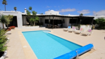 Luxury 4 bedroom sea front villa for sale in Costa Teguise