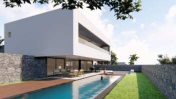 Luxury off plan promotion of 16 villas for sale in Puerto Calero