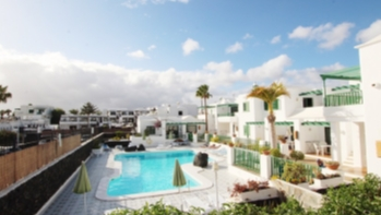 One bedroom apartment for sale on a small gated complex in Puerto Del Carmen