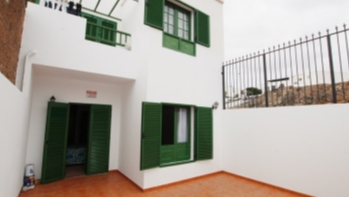 Large ground floor 2 bedroom apartment located in the Old Town Harbour of Puerto Del Carmen