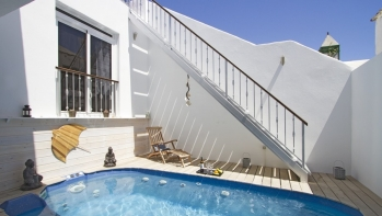 Unique detached beach property with unrivalled sea views in Costa Teguise
