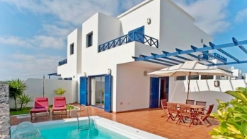 3 bedroom villa with private pool in San Marcial, Playa Blanca