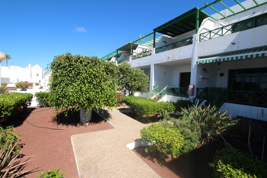 Ground floor 1 bedroom apartment with sea views in Puerto del Carmen