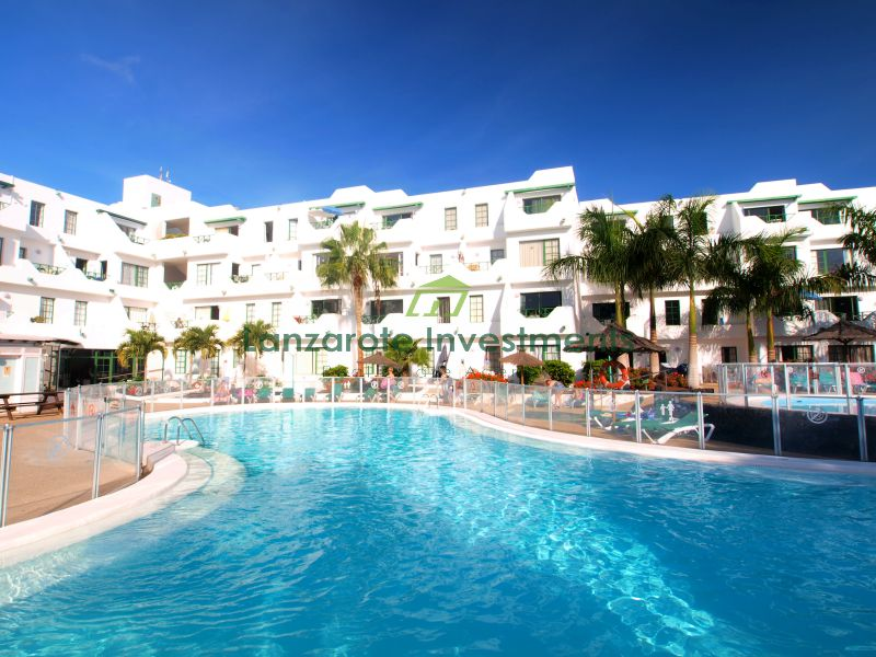 Spacious one bedroom apartment in the heart of Puerto del Carmen
