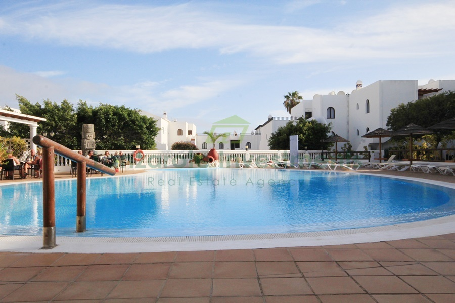 Duplex with Fantastic Sea Views and Communal Pool in Costa Teguise