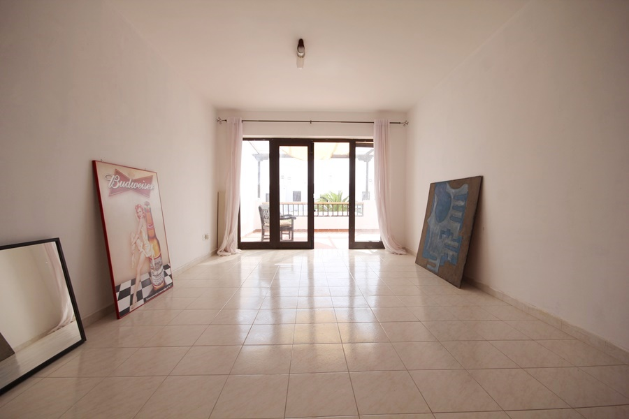 Spacious top floor 2 bedroom apartment perfectly located in Costa Teguise