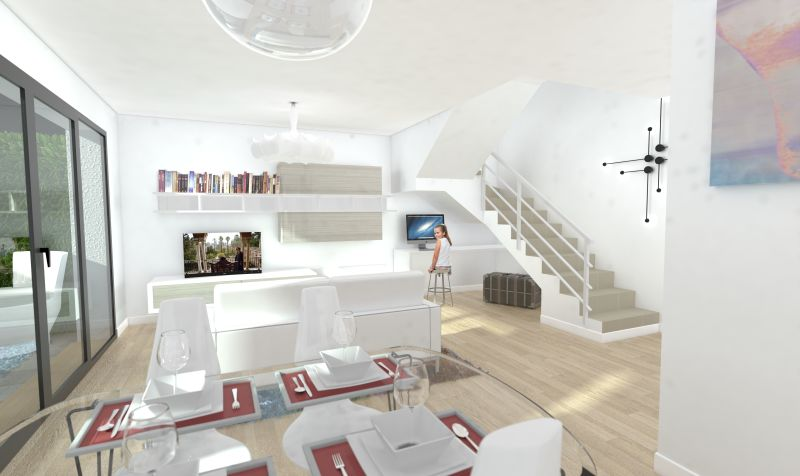 New build 3 Bedroom Duplex on fantastic development for sale in Costa Teguise
