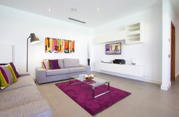 Contemporary 4 bedroom villa with heated private pool in Los Mojones