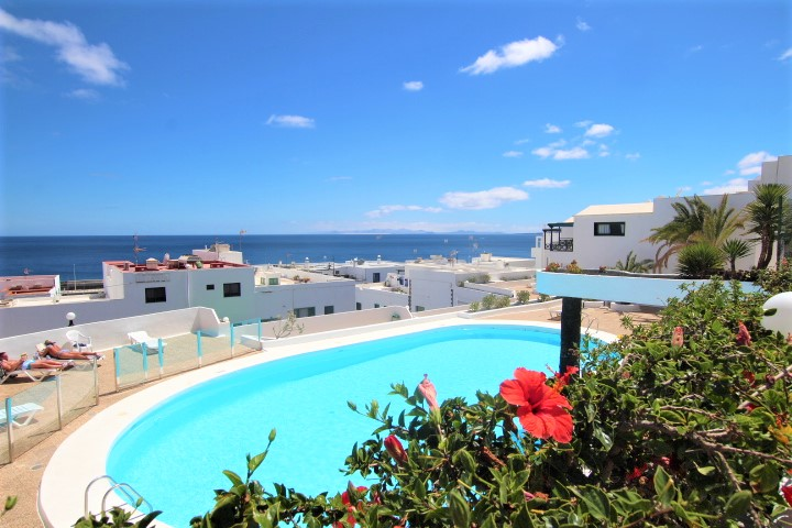 1 Bedroom Ground Floor Apartment with Sea Views in Puerto del Carmen