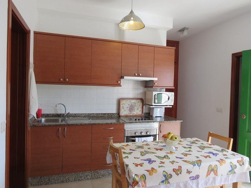 2 bedrooms, 2 bathrooms apartment in central Playa Blanca for sale.