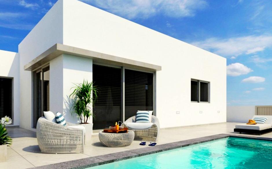 Selection of single story refurbished 2 and 3 bedroom villas in Playa Blanca