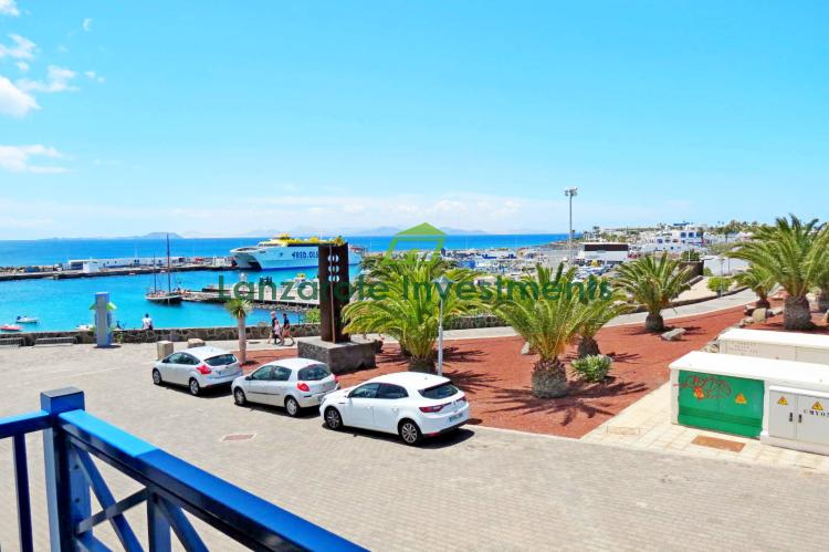 Stunning Apartment with Harbour Views for Sale in Playa Blanca