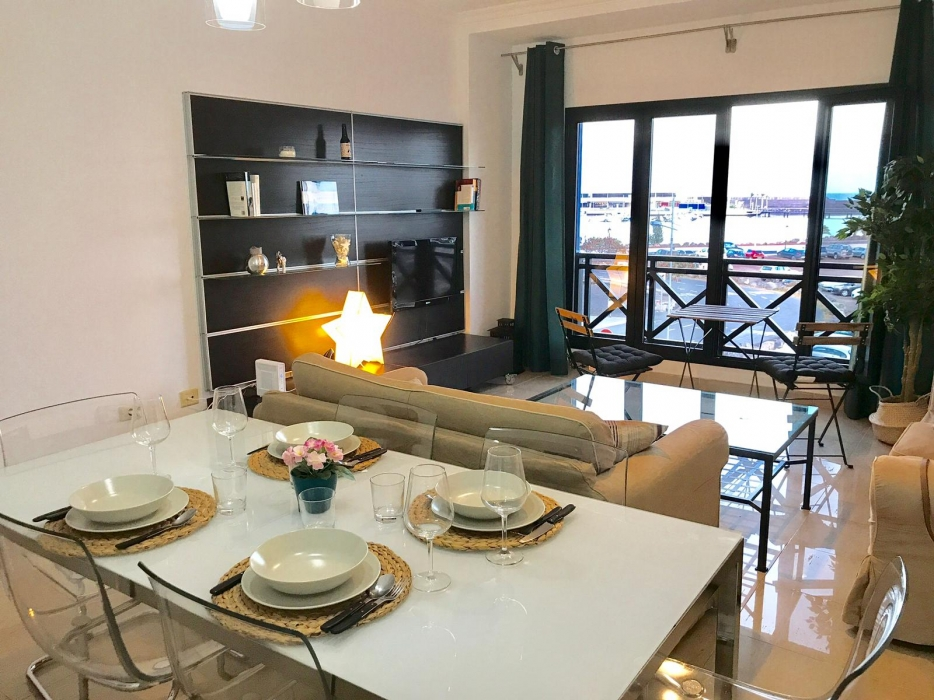 Stunning front line 3 bedroom apartment for sale in Arrecife