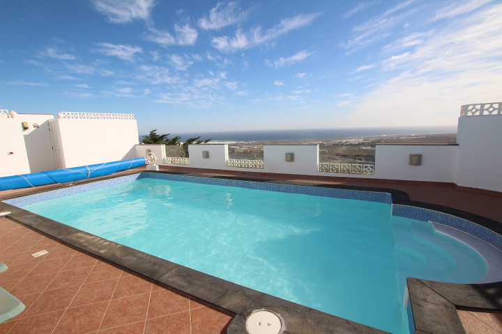 Stunning detached villa with uninterrupted sea views in Guime village