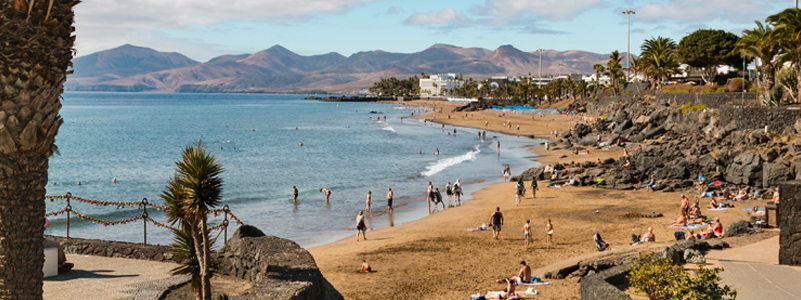 Beach at Puerto del Carmen