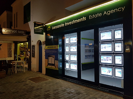 Lanzarote Investments Office Front 2