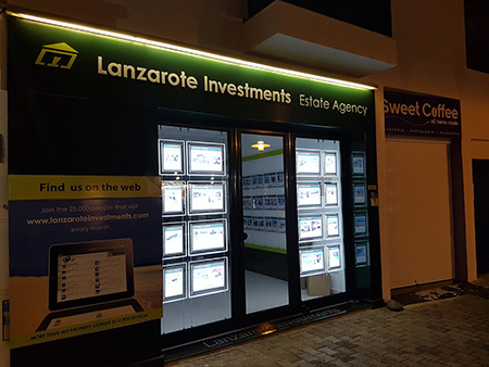 Lanzarote Investments Office Front